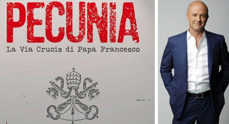 """""""Pecunia"""", arriva a teatro lo spettacolo di Gianluigi Nuzzi sul rapporto tra Chiesa e denaro"""