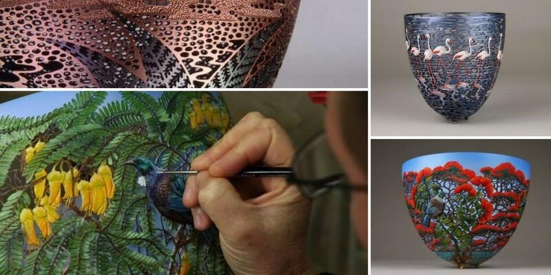 Gordon Pembridge, l'artista che scolpisce scodelle di legno creando opere d'arte