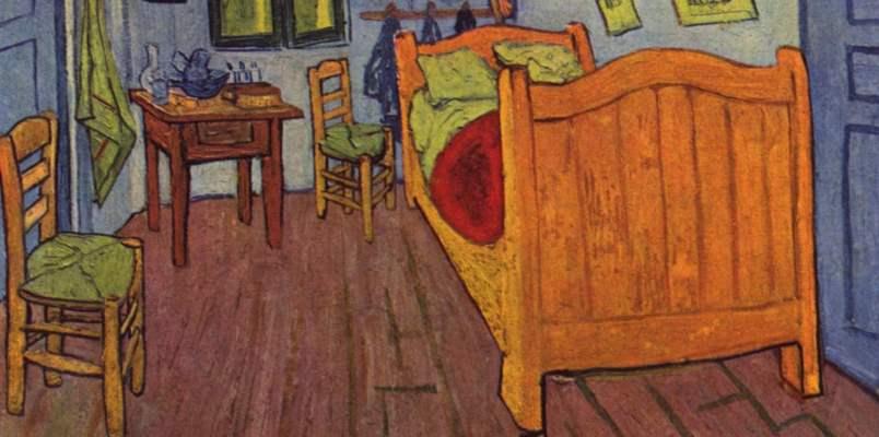 La Camera di Arles di Van Gogh riprodotta a grandezza naturale in mostra a Milano