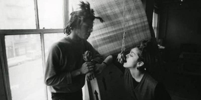 Jean-Michel Basquiat e Madonna, storia di un amore breve ma intenso