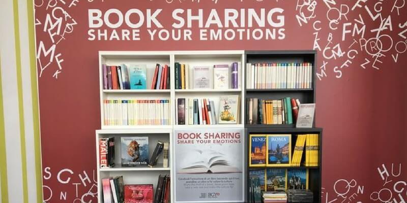 All'aeroporto di Orio al Serio arriva il Book Sharing che fa volare la cultura