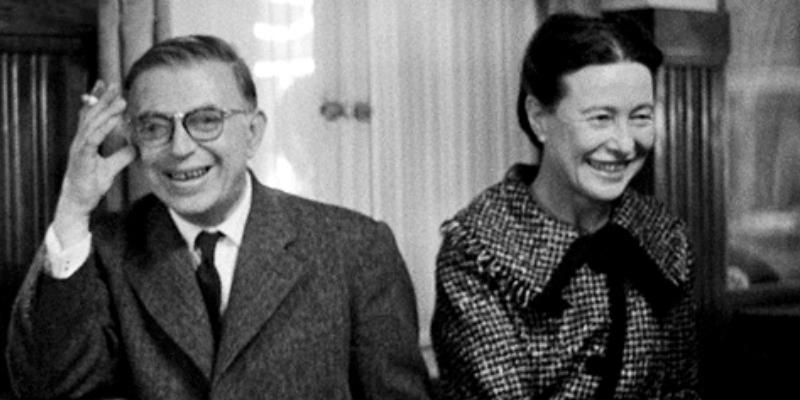 La storia d'amore tra Jean-Paul Sartre e Simone di Beauvoir
