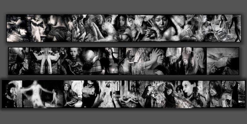 Le fotografie in bianco e nero di Beat Kuert in mostra a Venezia