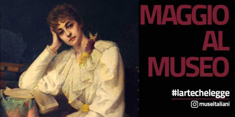 """""""L'arte che legge"""", la campagna social del MiBACT per promuovere musei e lettura"""