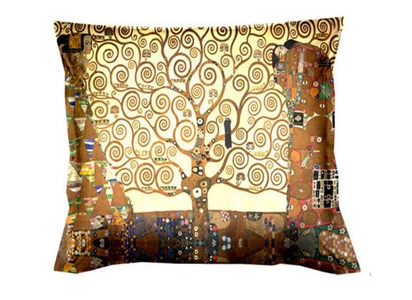 """Albero della vita"" - Gustav Klimt - Cuscino Arredo"
