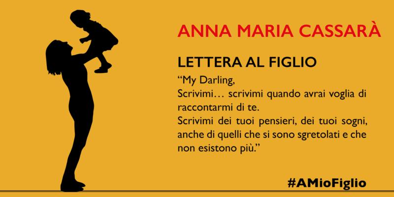 Lettera di Anna Maria Cassarà al figlio