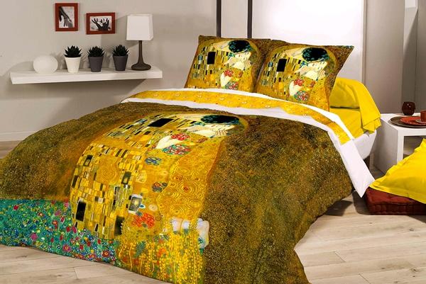 """""""Il Bacio"""" - Gustav Klimt - Parure Copripiumino"""