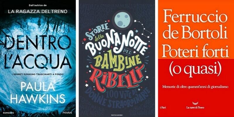 """Classifica libri più venduti, Paula Hawkins supera le """"Bambine ribelli"""""""