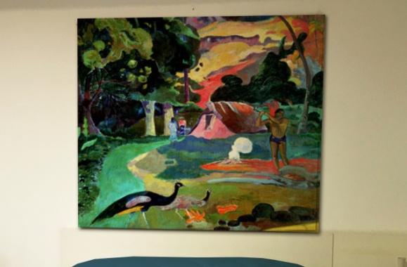 """""""Matamoe"""" - Paul Gauguin - Tela Arredo"""
