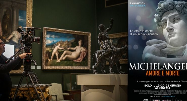 Arriva al cinema il genio rinascimentale di Michelangelo