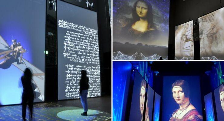 """""""Da Vinci Experience"""", la mostra multimediale che t'immerge nel mondo del Genio Universale"""