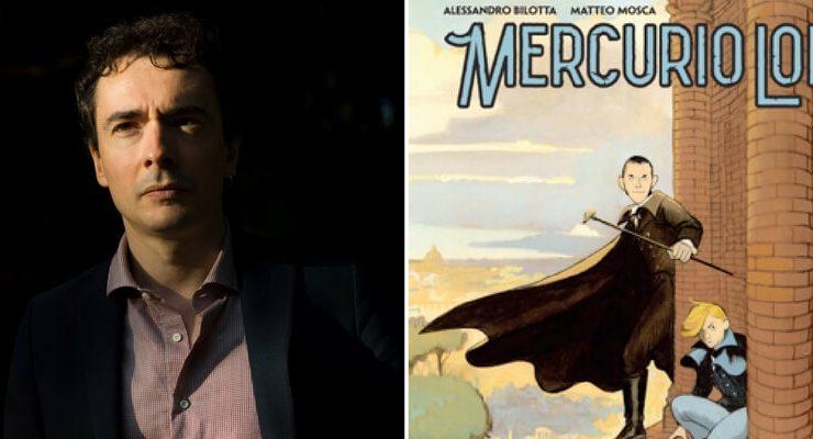 Mercurio Loi, arriva la nuova serie a fumetti ambientata nella Roma dell'800