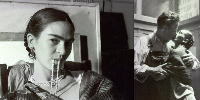 dentro la vita di frida kahlo attraverso le fotografie
