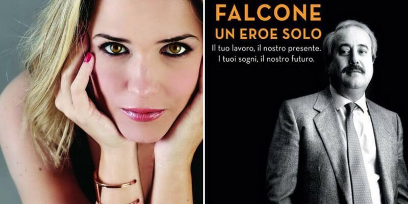 Giovanni Falcone, l'omaggio di Francesca Barra agli uomini della sua scorta