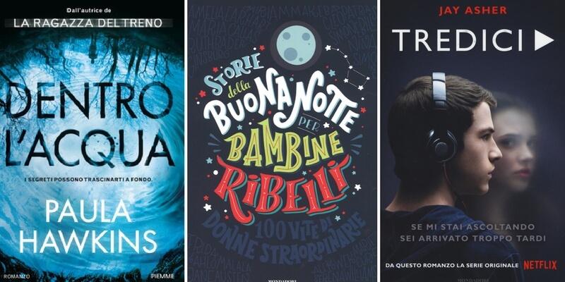 """Classifica libri più venduti, le """"Bambine ribelli"""" tornano al primo posto"""