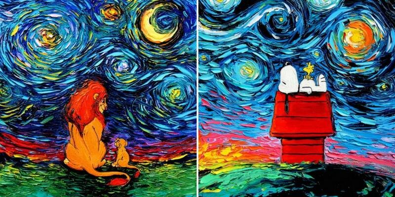 Quando la cultura pop incontra l'arte di Vincent Van Gogh