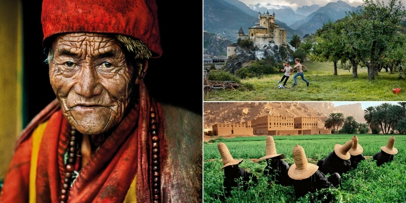La vita in montagna raccontata attraverso le fotografie di Steve McCurry