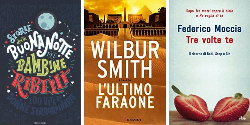 """Classifica libri più venduti, entrano nella top ten Pennac e """"Tredici"""""""