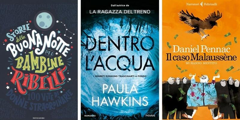 """Classifica libri più venduti, Paula Hawkins e Pennac inseguono le """"Bambine ribelli"""""""