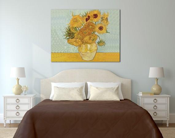 """Girasoli"" - Vincent Van Gogh - Tela Arredo"