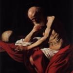 Dentro Caravaggio | Caravaggio - San Girolamo penitente, 1605-1606