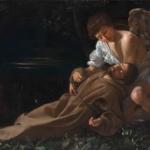 Caravaggio - San Francesco in estasi, 1597