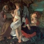 Dentro Caravaggio | Caravaggio - Riposo durante la fuga in Egitto, 1596-1597