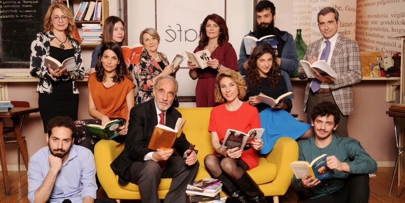 """""""Un libro per due"""" arriva in tv il nuovo talk show dedicato ai libri"""