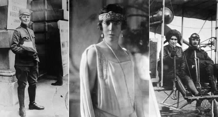 """Le """"Wonder Woman"""" sconosciute della Prima Guerra Mondiale"""