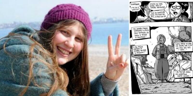 """Siria, è morta Ayse Deniz Karacagil, la combattente raccontata da Zerocalcare in """"Kobane Calling"""""""