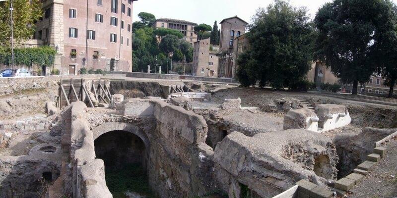A Roma gli scavi hanno portato alla luce uno scenario pompeiano
