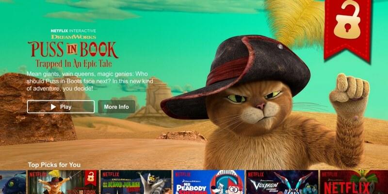 Arrivano su Netflix i racconti interattivi per piccoli lettori