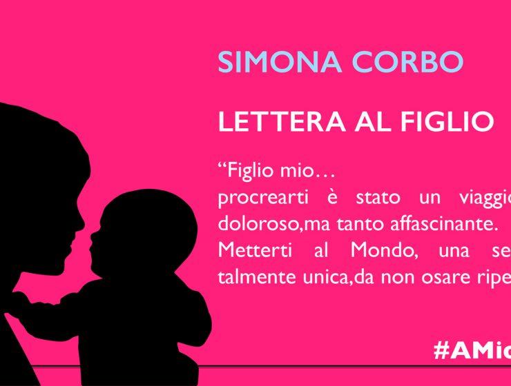 Lettera di Simona Corbo al figlio