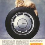 La Pubblicità con la P maiuscola | Pirelli P 4000. Per le berline veloci degli anni '90, 1990 (Italia/BBDO, fotografia Paolo Gandola)