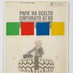 La Pubblicità con la P maiuscola | Papà ha scelto Cinturato AT89, 1969 (agenzia Centro, design François Robert), esecutivo di stampa