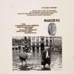 La Pubblicità con la P maiuscola | Se Venezia va sott'acqua, 1975, campagna pubblicitaria del pneumatico P3, 1975 (agenzia Centro)