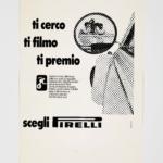 La Pubblicità con la P maiuscola | Ti cerco ti filmo ti premio, 1974 (agenzia Centro), esecutivo di stampa