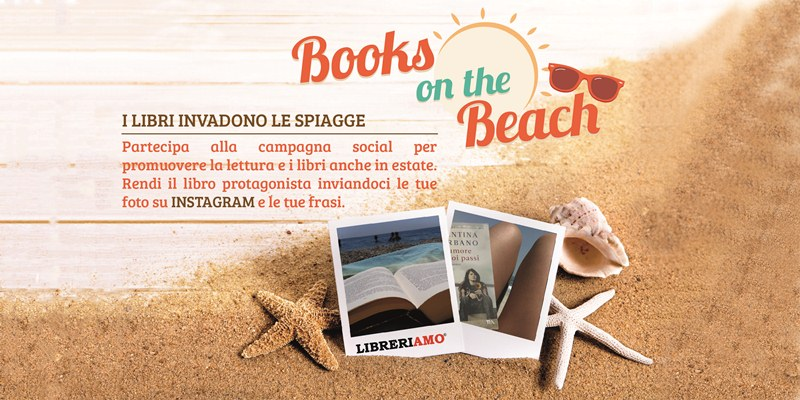 "Parte ""Books on the Beach"", la campagna social per promuovere la lettura in estate"