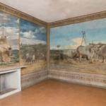 Giovanni Boldini (Ferrara 1842 – Parigi 1931) Scorcio della stanza (Decorazione della sala da pranzo della Falconiera) 1868 Tempera su muro Pistoia, Musei dell'Antico Palazzo dei Vescovi