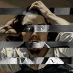 "I mashup di Luigi Tarini | Luigi Tarini - Gustave Courbet ""The Desperate Man"" Self Portrait & James Stewart"