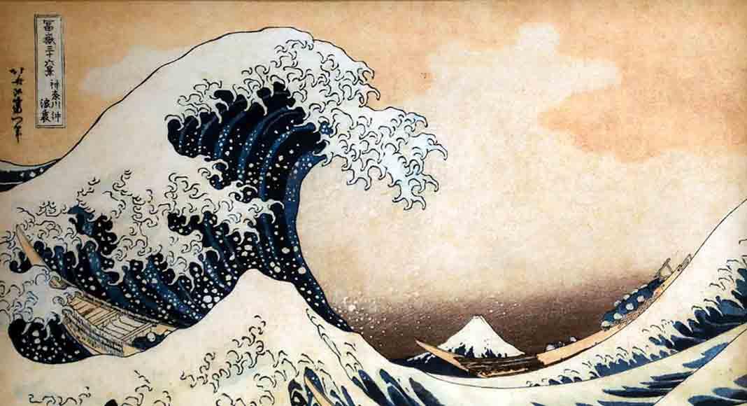 Arriva al cinema l'artista giapponese Hokusai