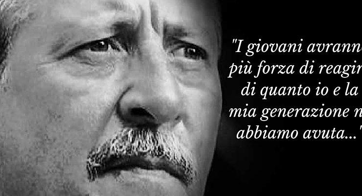 L'ultima lettera scritta da Paolo Borsellino prima di morire