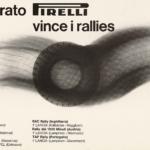 La Pubblicità con la P maiuscola | Cinturato Pirelli vince i rallies, 1970 (agenzia Centro, design Tomás Gonda), esecutivo di stampa