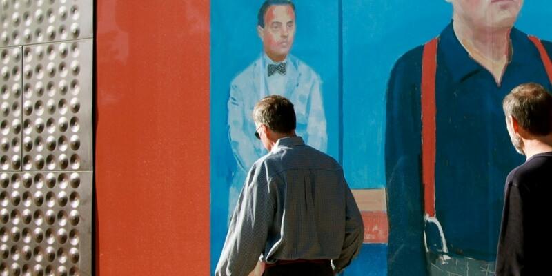 In mostra a Venezia 82 ritratti dell'artista David Hockney