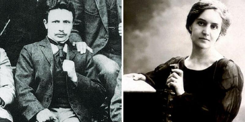 Dino Campana e Sibilla Aleramo, una storia d'amore furibonda