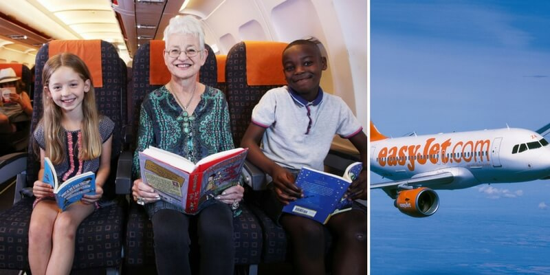 Biblioteca in volo, iniziativa estiva di EasyJet per i più piccoli