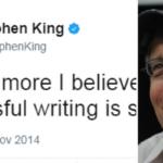 Come diventare uno scrittore, i consigli di Stephen King
