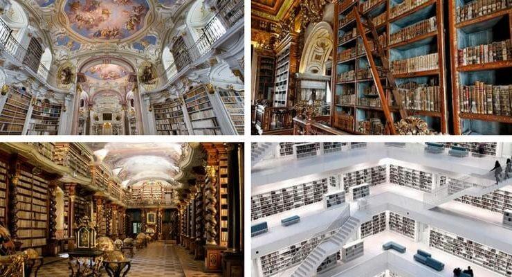 Le 10 biblioteche che ti faranno venire voglia di viaggiare