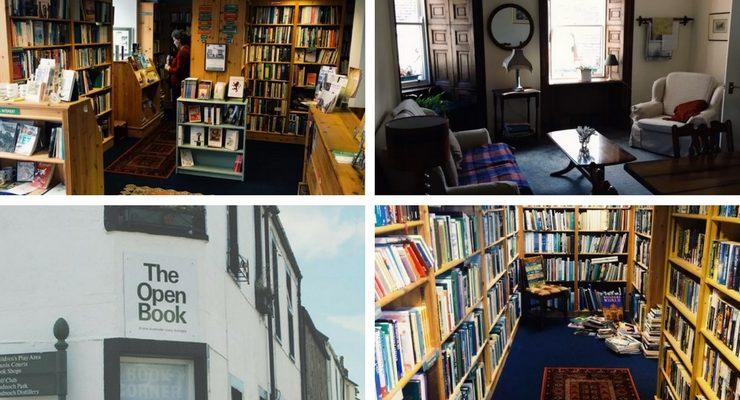 In Scozia si può trascorrere una vacanza in una libreria