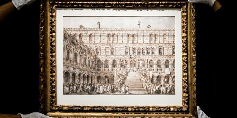 Venduto all'asta di Londra uno dei capolavori di Canaletto
